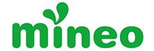mineoのロゴ